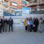 Clínica Parejo y Cañero Hospital de Día recibe un grupo de delegados de Adelas Segurcaixa de las provinvias de Málaga, Córdoba y Sevilla