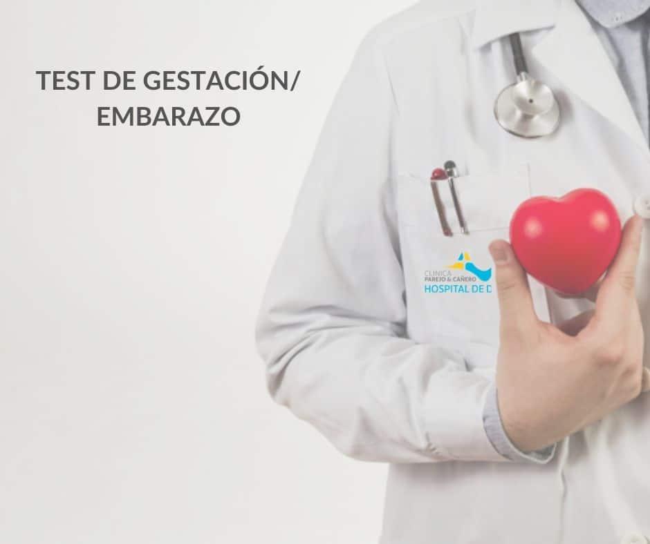 Test de gestación/Embarazo