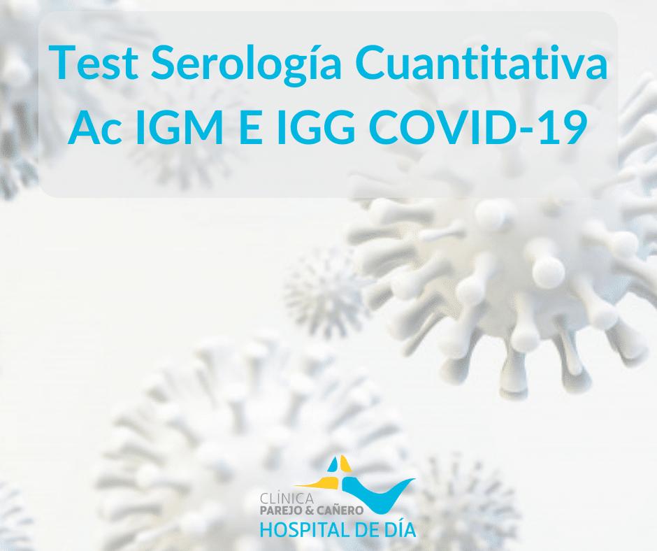 Test Serología Cuantitativa COVID-19