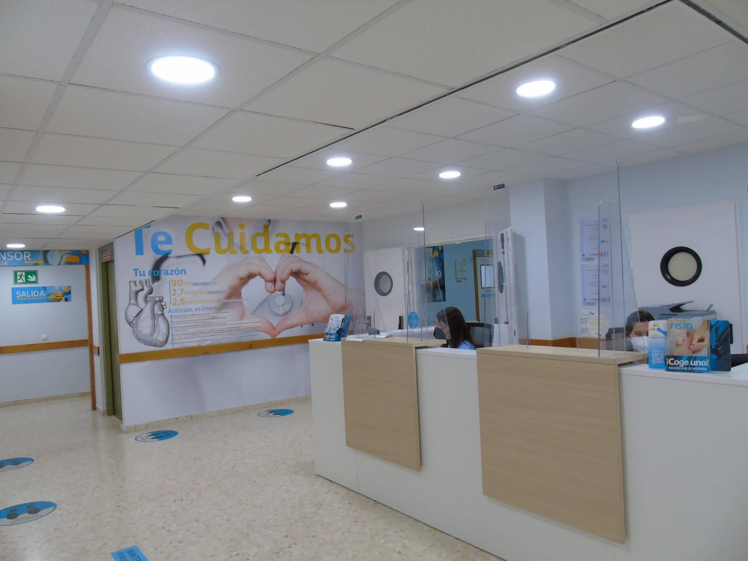 Atención al paciente Clínica Parejo y Cañero
