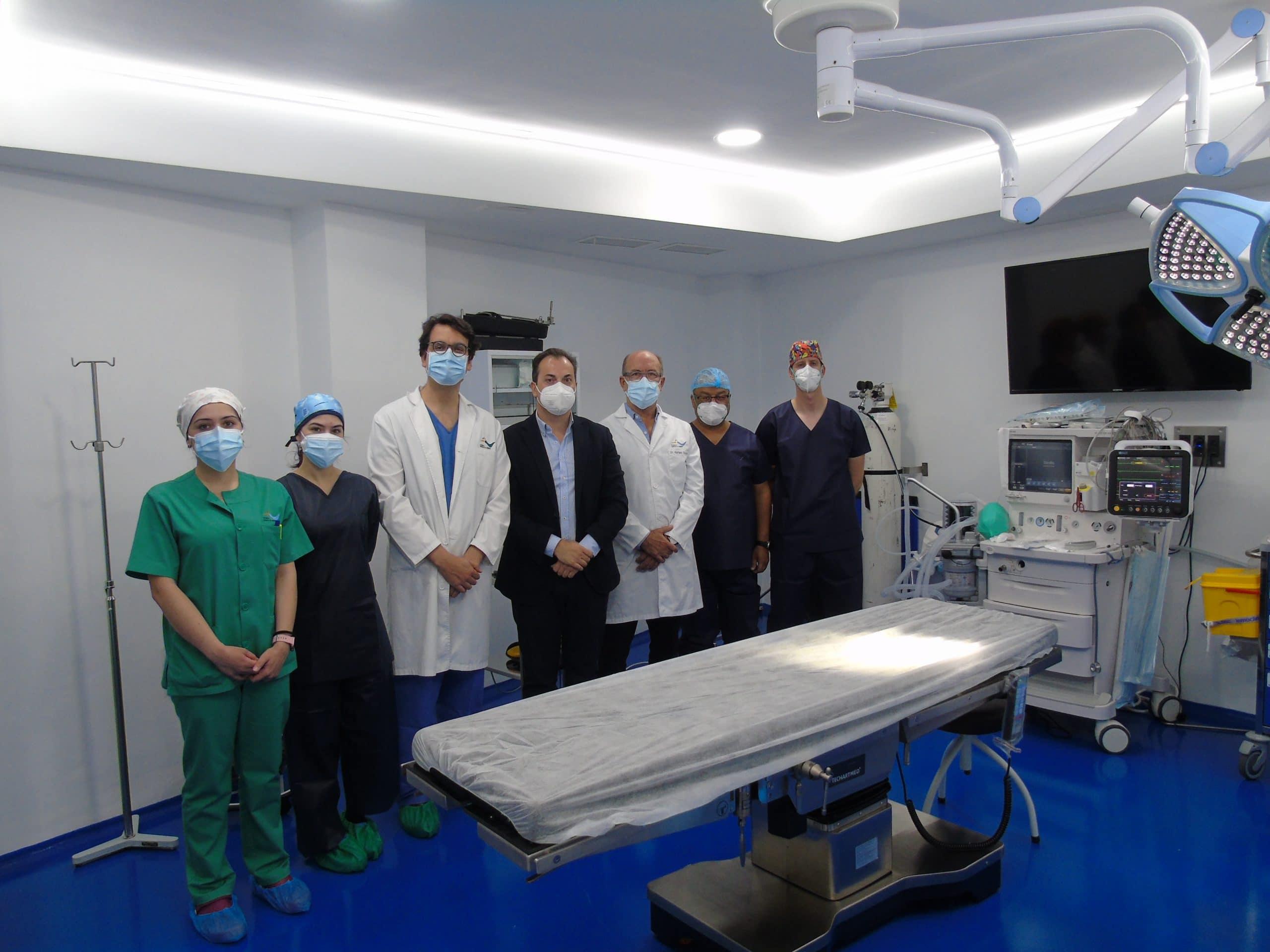 Cirugía Mayor Ambulatoria Hospital de Día Parejo y Cañero