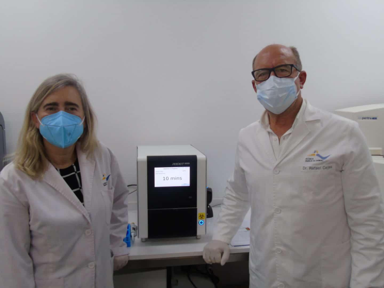 Realización PCR Covid19