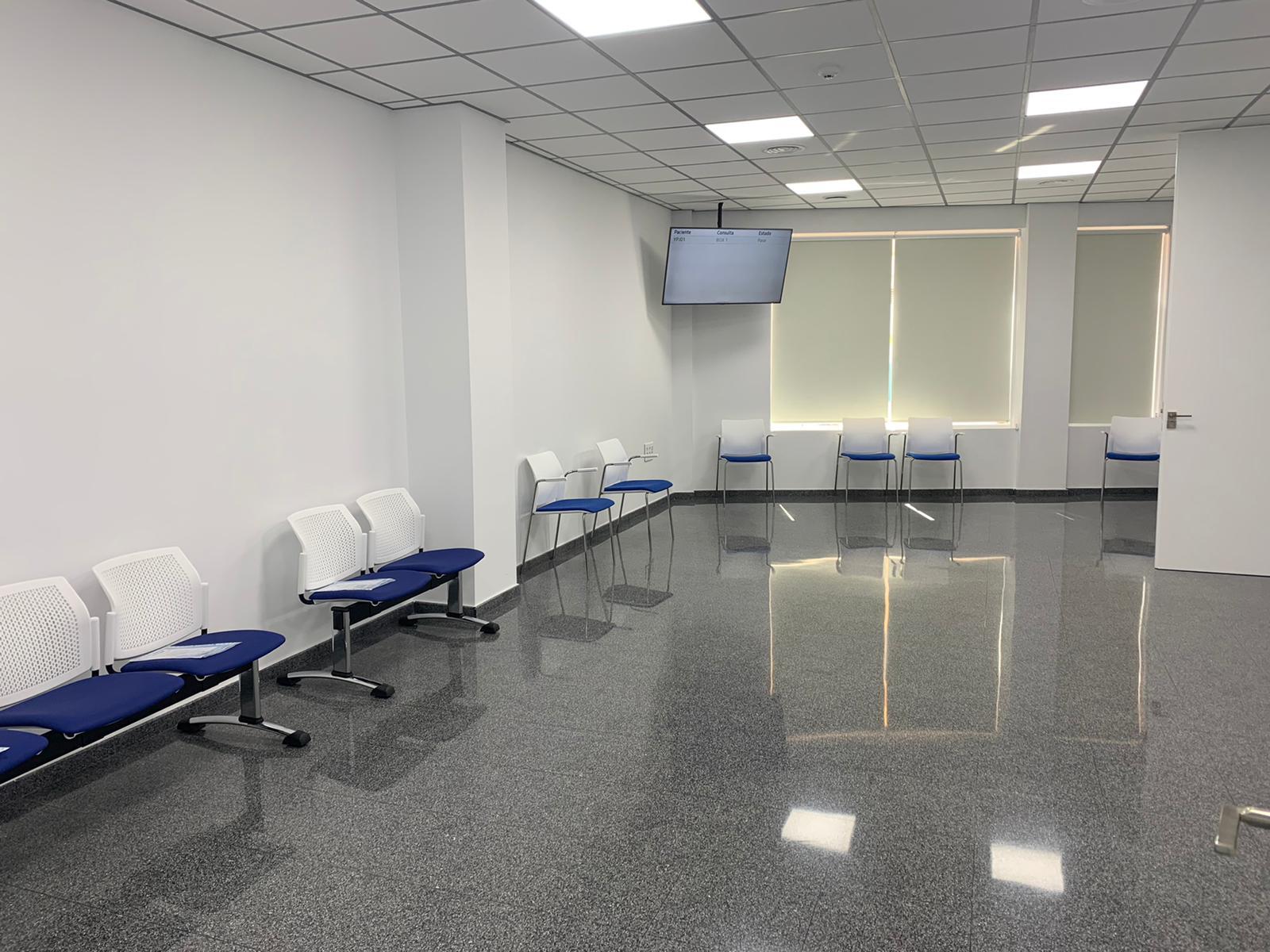 sala de espera hospital de día