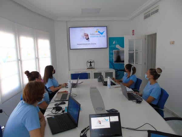 Transformación digital Hospital de día Parejo y Cañero